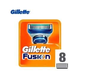 Сменные кассеты для бритья Gillette Fusion, 8 шт. на Tmall
