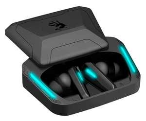 Гарнитура TWS игровая A4TECH Bloody M70, черный / синий