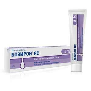 Базирон АС, гель 5%, 40 г