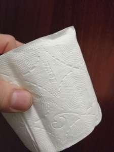 [Омск] Туалетная бумага Zewa 3х слойная 8 шт.