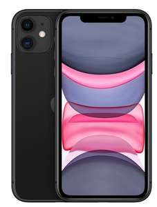 Смартфон Apple iPhone 11 (новая комплектация) 128Gb Черный (цена при покупке комплекта) с 18:00 по 03:00