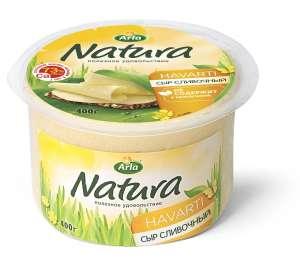 Сыр полутвердый Arla Natura Сливочный 45% 400 г или Arla Natura Легкий сливочный 16% 400 г
