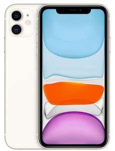 Смартфон Apple iPhone 11 (новая комплектация) 128Gb Белый (цена с 18:00 до 03:00)