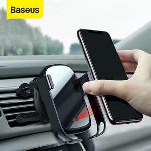 Быстрая беспроводная зарядка в авто Baseus 15W