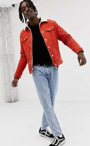 Оранжевая куртка Pull&Bear