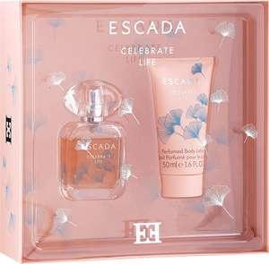 Набор Escada Celebrate Life: парфюмерная вода 30 мл. + лосьон для тела 50 мл.