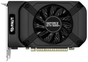 Видеокарта Palit GeForce GTX 1050 Ti StormX 4GB (NE5105T018G1-1076F), Retail