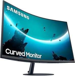"""Монитор Samsung C27T550FDI 27"""", черный"""