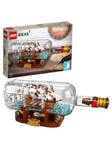 """Конструктор LEGO Ideas 92177 """"Корабль в бутылке"""""""