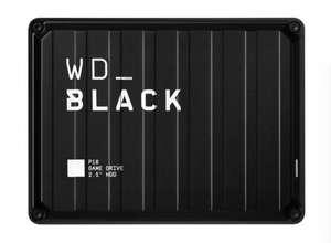 Внешний HDD Western Digital WD_BLACK P10 Game Drive 4 ТБ