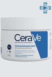 CeraVe Крем увлажняющий, для сухой и очень сухой кожи лица и тела, 340 мл