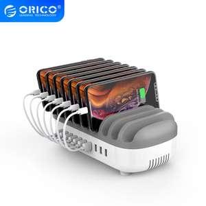 """Зарядная станция 120w на 10 портов 5v/2.4a, с активным охлаждением """"Orico"""""""