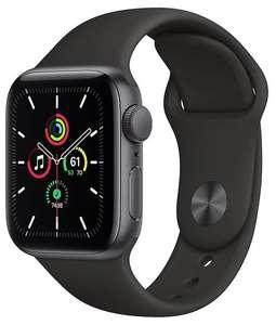 Умные часы Apple Watch SE GPS 40мм Aluminum Case with Sport Band, серый космос/черный