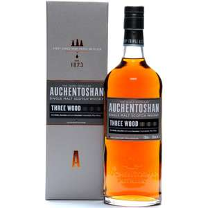 Виски AUCHENTOSHAN Three Wood 43%, п/у, Великобритания, 0.7 L