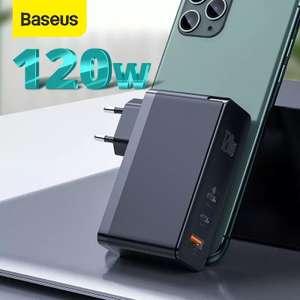 Pарядное устройство Baseus GAN 120Вт