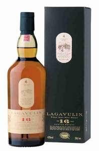 [не везде] Виски LAGAVULIN шотландский односолодовый 16 лет, 43%, Великобритания, 0.75 L