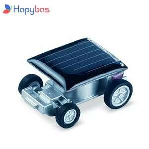 Машинка на солнечной батарее