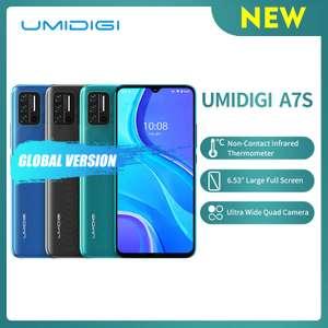 Смартфон Umidigi A7S со встроенным бесконтактным ИК-термометром