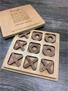 Picul toys / Крестики-нолики, настольные игры для детей, деревянные развивающие игрушки