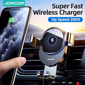 Автомобильный держатель Joyroom с функцией беспроводной зарядки 18вт
