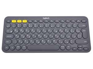 Клавиатура Logitech K380 Multi-Device, темно-серый