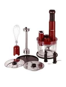 Погружной блендер Oursson HB6040/RD, красный