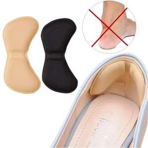 Самоклеющаяся подушечки из пеноматериала на обувь, для защиты пяток от мазолей.