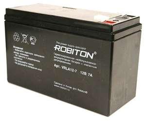 Аккумуляторная батарея Robiton VRLA 12-7 7 А·ч