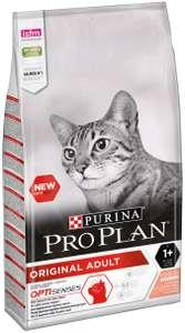 Подборка корма для кошек. Например, Pro Plan Original, профилактика зубного камня, с лососем 10 кг