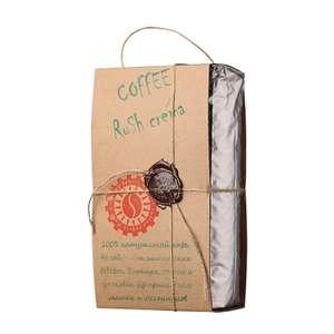 """Кофе """"Coffee Rush Crema"""" в зернах, 1 к"""