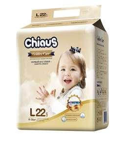 CHIAUS CHIAUS подгузники-трусики детские Golden Care L (9-14 кг)