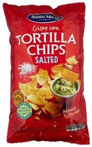 Чипсы Santa Maria Кукурузные Tortilla соленые, 185 г 4 упаковки по акции 3=4