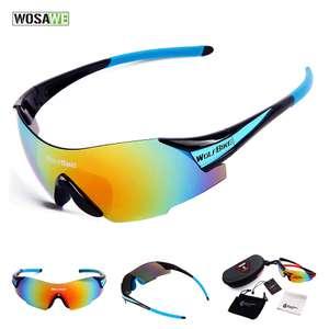 Велосипедные очки для спорта WOSAWE UV400