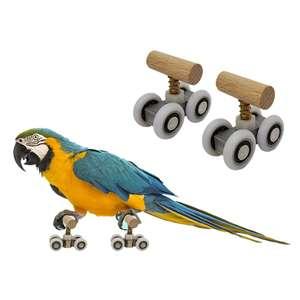 Ролики для попугая