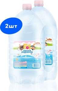 Вода Калинов родничок, упаковка 2x6 литров
