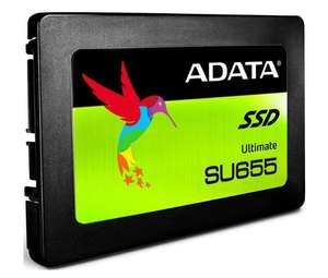 480 ГБ SSD диск ADATA Ultimate SU655 (ASU655SS-480GT-C)
