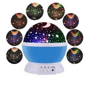 Ночник проектор звёздного неба Haifisch Star master (Голубой)