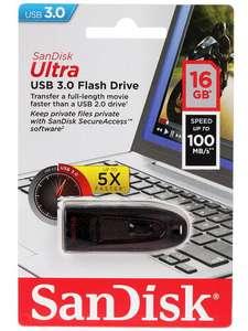 [не везде] Флешка USB Flash SanDisk Ultra 16 ГБ USB 3.2 Gen 1