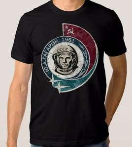 Футболка Dream Shirts Юрий Гагарин 1961 Мужская XS Черная