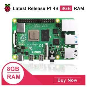 Одноплатный мини-пк Raspberry pi 4 8gb