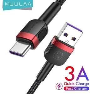 Кабель KUULAA USB - type C 0,5м