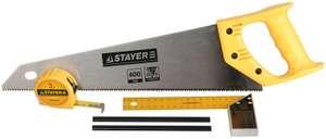 Набор для столярных работ Stayer Standard 15084-H5 5 предметов