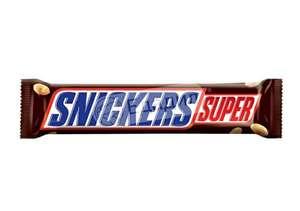 Батончик Snickers 95г (скидка действует на 2-й батончик)