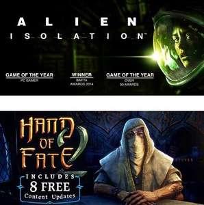 [PC] Alien: Isolation и Hand of Fate 2 бесплатно с 22 апреля