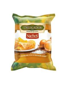 Чипсы кукурузные Delicados Nachos 75г в ассортименте