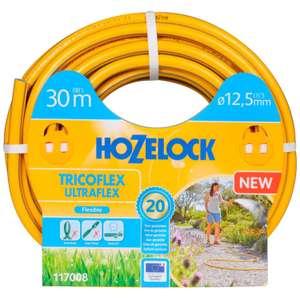 Шланг для полива HOZELOCK Tricoflex Ultraflex 1/2 дюйма 30 м