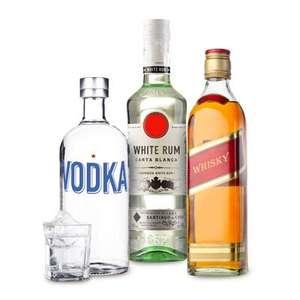 Весь крепкий алкоголь: 3 по цене 2 в Ленте