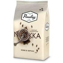 Кофе Paulig Mokka в зернах 1 кг. в Metro Сбермаркет