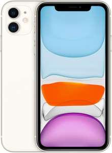Смартфон Apple iPhone 11 64GB, белый, Slimbox + Беспроводные наушники Jays t-Four Wireless