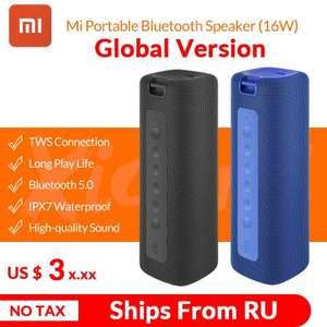 Портативная колонка Mi Portable Bluetooth Speaker (16w) отправка из РФ